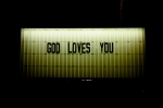 """God Loves You, 71958"" (2011), C-type photograph, 76.2 x 114.3 (30 x 45 in), Edn of 5"
